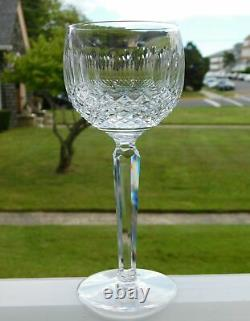 4 Waterford Crystal Colleen 7 1/2 Hock Wine Goblets Set #1