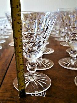 51-PC WATERFORD TRAMORE CUT CRYSTAL SET or WATER/CLARET WINE/PORT WINE/CHAMPAGNE