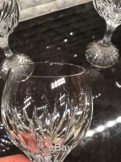 BACCARAT MASSENA Crystal White Wine Glass, Set Of 6