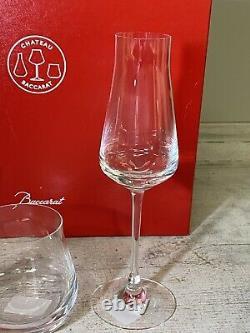 Baccarat Chateau Degustation 3 Piece Set New Open Box