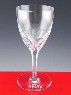 Baccarat France Crystal GENOVA 7.5 WINE WATER GOBLETS GLASSES Set 4 Mint Boxes