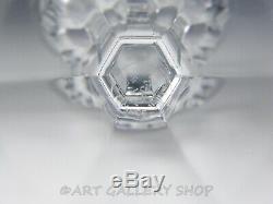 Baccarat France Crystal MALMAISON 6-3/4 WINE GOBLETS GLASSES Set of 5 Mint