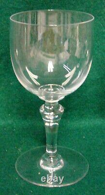 Baccarat NORMANDIE Claret Wine Glasses SET OF FOUR More Items Here MINT IN BOX