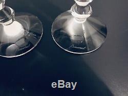 Baccarat Vega Rhine Wine Glasses Set/2 Green