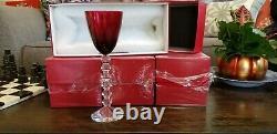 Baccart Vega Wine Glasses set of 4