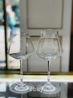 Chateau Baccarat Wine Glasses Set of 2