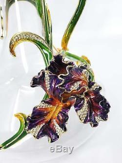 Ciel 5 Piece Orchid Decanter & Wine Glass Set Factory New