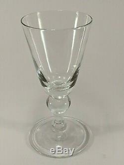 Colonial Williamsburg Royal Leerdam Water/Wine Goblet (SET OF 4)