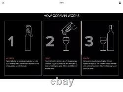 Coravin Wine Age Naturally System Model Two Plus Pack & Argon Gas Capsules A465