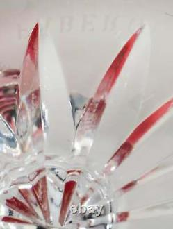 FABRERGE Odessa Hock Wine Glasses Edition 1 Multicolor Crystal Set of 6