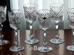 FOR GIFT, Wide High quality CRYSTAL wine glasses, Set of 6, for red wine