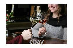 Gabriel-Glas Set of 6 Austrian Crystal Wine Glass StandArt Edition