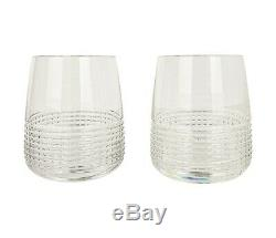 Hermes Glasses Wine Water Tumbler Set of 12 New