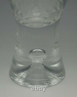 Iittala Finland Tapio Wirkkala Set Of 4 Red Wine Goblets Glasses Bubble In Stem