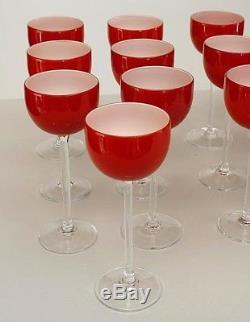 Italian 1950/60s Murano Glass Wine Service Set