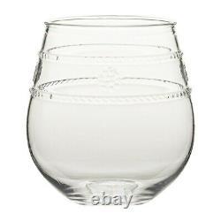Juliska Isabella Acrylic Stemless Wine Glass Set of 12