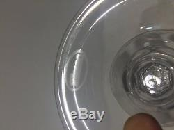 Moser Crystal Lady Hamilton Wine Glasses BNIB set of 6