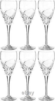 RCR CRYSTAL DA VINCI GROSSETO SMALL WINE GLASSES 17cl (SET OF 6) BRAND NEW