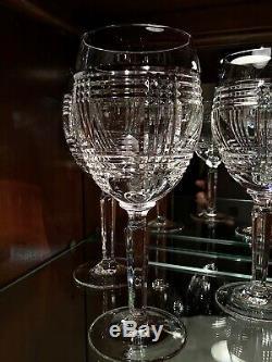 7a818e8be44 Ralph Lauren Crystal Glen Plaid 8 1/4 Wine Glasses (Set of 4)
