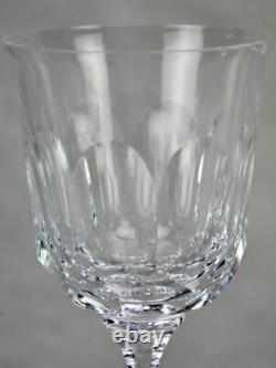 Rare set of thirty 1950s French crystal Baccarat wine and liqueur glasses
