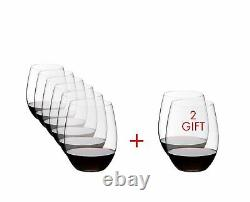 Riedel O Wine Tumbler Cabernet/Merlot Pay 6 Get 8 Piece Set