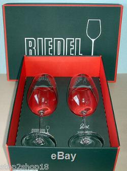 Riedel Sommeliers Bordeaux Grand Cru SET/2 Wine Glasses #2400/00 New