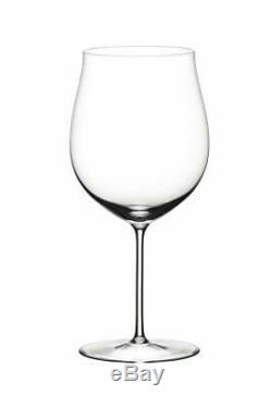 Riedel Sommeliers Burgundy Grand Cru Wine Glass, Set of 2