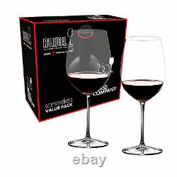 Riedel Sommeliers Value Set Bordeaux Grand Cru Glasses Set Of 2 NEW