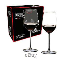 Riedel Sommeliers Value Set Chablis/Chardonnay Glasses Set Of 2