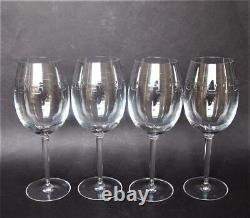 SALE! John Rocha Waterford Crystal Set of 4'Trace' Red Wine Glasses FLOW Box