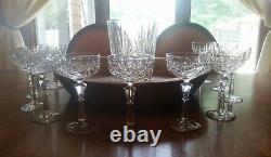 SET of 11 BACCARAT Wine Goblets 7Glasses Outstanding Stemware Crystal