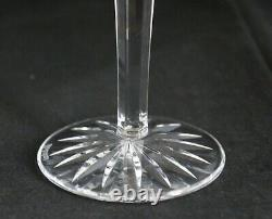 Set 4 Vintage Waterford Cut Glass Crystal Araglin Water Red Wine Goblets 7 7/8