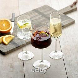 Set Of 12 Essential Wine Glasses Crystal Glass For Red Wine White Wine Champagne