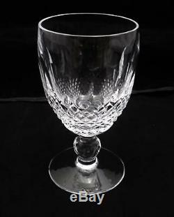 Set Of 12 Waterford Crystal, Colleen Short Stem Claret Wine Glasses 4-3/4 Tall