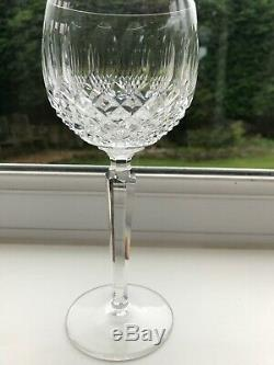 Set Of 6 Waterford Crystal Colleen Hock Wine Glasses. 7.3/8 Boxed 602-137