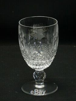 Set of 10 pcs Claret Wine Colleen Short Stem (Cut) by Waterford Crystal 4.75 H