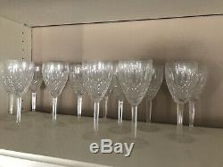 Set of 12+1 FREE Waterford Claret Castlemaine Wine Glasses Perfect New Condition