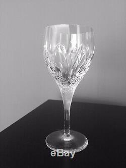 Set of 14 Atlantis Crystal Wine Glasses Chartres Cut, Portugal, 7