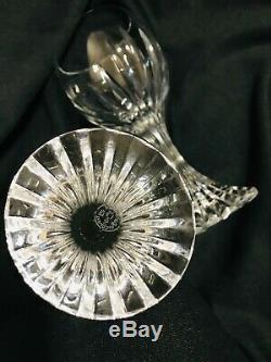 Set of 2 Perfect Baccarat Crystal MASSENA Wine or Water Glasses 7-Multi Avail