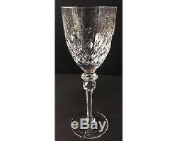 Set of 4 Rogaska Gallia Crystal 7 & 3/4 Wine Glasses Goblets Stems