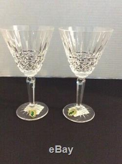 Set of 4 Waterford Crystal 6 1/2 MAEVE CLARET Wine Glasses New In Box