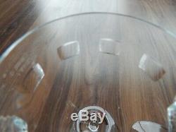 Set of 6 Waterford Crystal John Rocha Geo White Wine Glasses 8 1/4 Tall