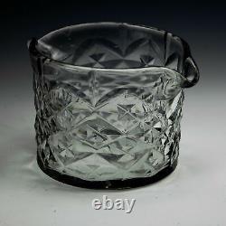 Set of Six Georgian Flat Cut Wine Glass Rinsers c1775