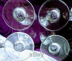 Seven Simon Pearce Handblown Wine GlassesWoodstock & Hampton Collection 2 Sets