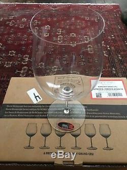 Sommelier Riedel Burgundy Grand Cru Wine Glasses. Set Of 6