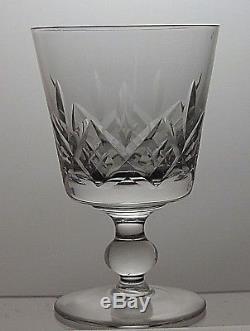 Stuart Crystal Glengarry Cut 8 Oz Claret Wine Glasses Set Of 6 5 Tall