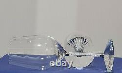 Swarovski Crystal David Weinberg Crystalline Wine Glasses Set Of 2
