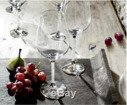 Swarovski Crystal Wine Glasses Set of 2 (6 Sets/12 Total Glasses Available)