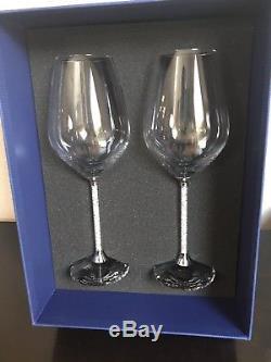 Swarovsky Crystalline Red Wine Glasses (set Of 2)