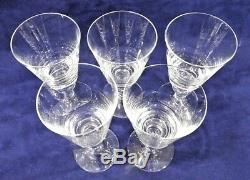 Tiffany and Co. Brittania Wine Glass Set of 5